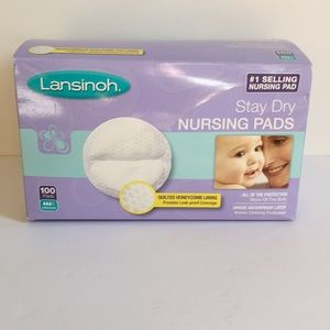 Lansinoh Stay Dry Nursing Pads 50 new pads